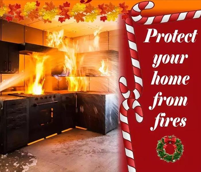 Fire Damage Christmas safety tips to help you avoid holiday disasters at home